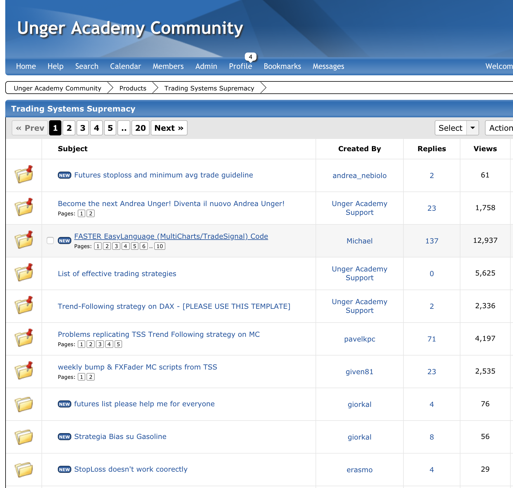 Master the Code & Go Live - Unger Academy forum